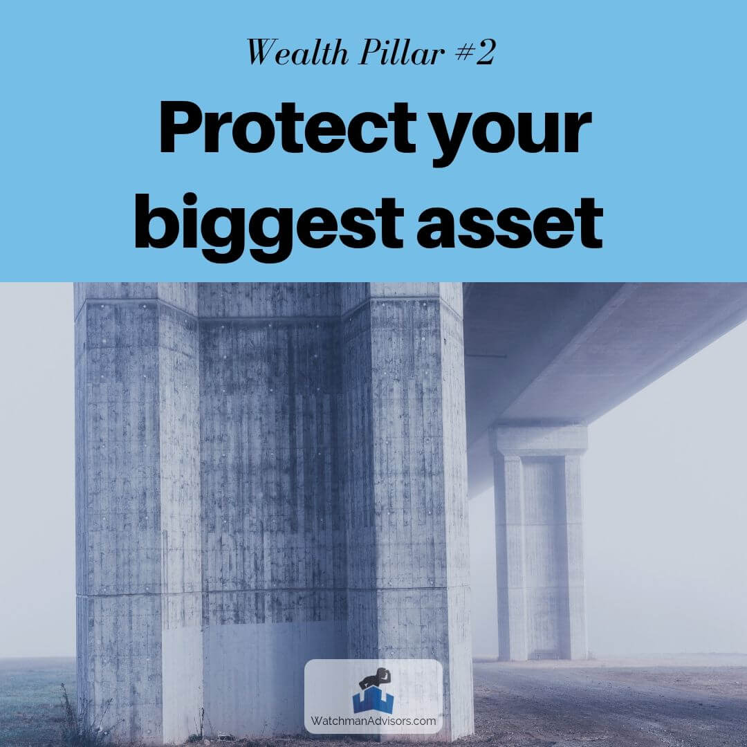 Wealth Pillar 2 - Protect your biggest asset, your life